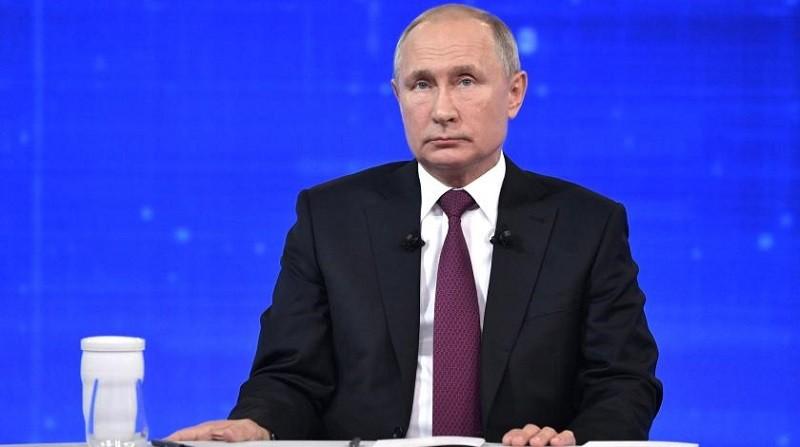 Путин ұятты жағдай туралы айтып көзіне жас алды