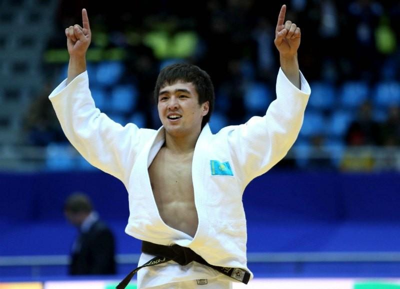 Дзюдошы Елдос Сметов Гран-приде алтын алды