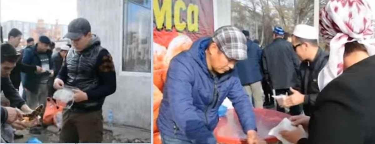 Теміртау тұрғындары жол апатының көптігіне байланысты сиырды құрбандыққа шалды