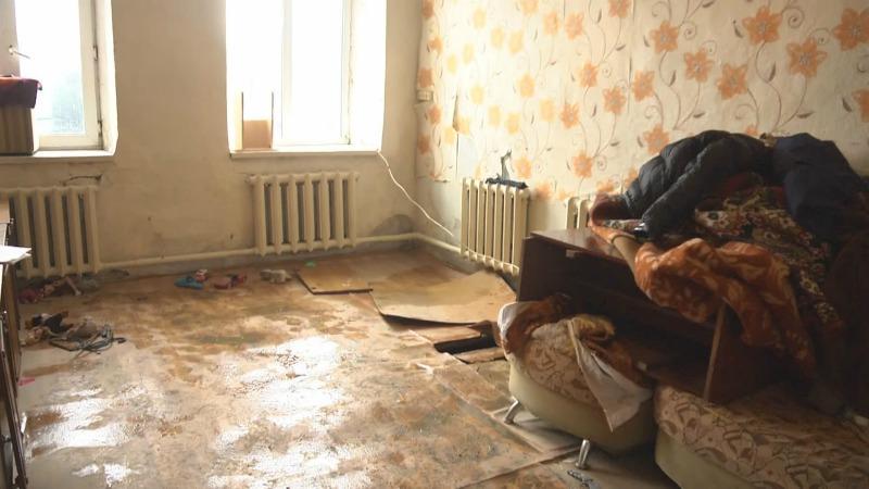 Көкшетаудасу тасқынынан кейін15 отбасы әкімдік берген қонақ үйді паналап жүр