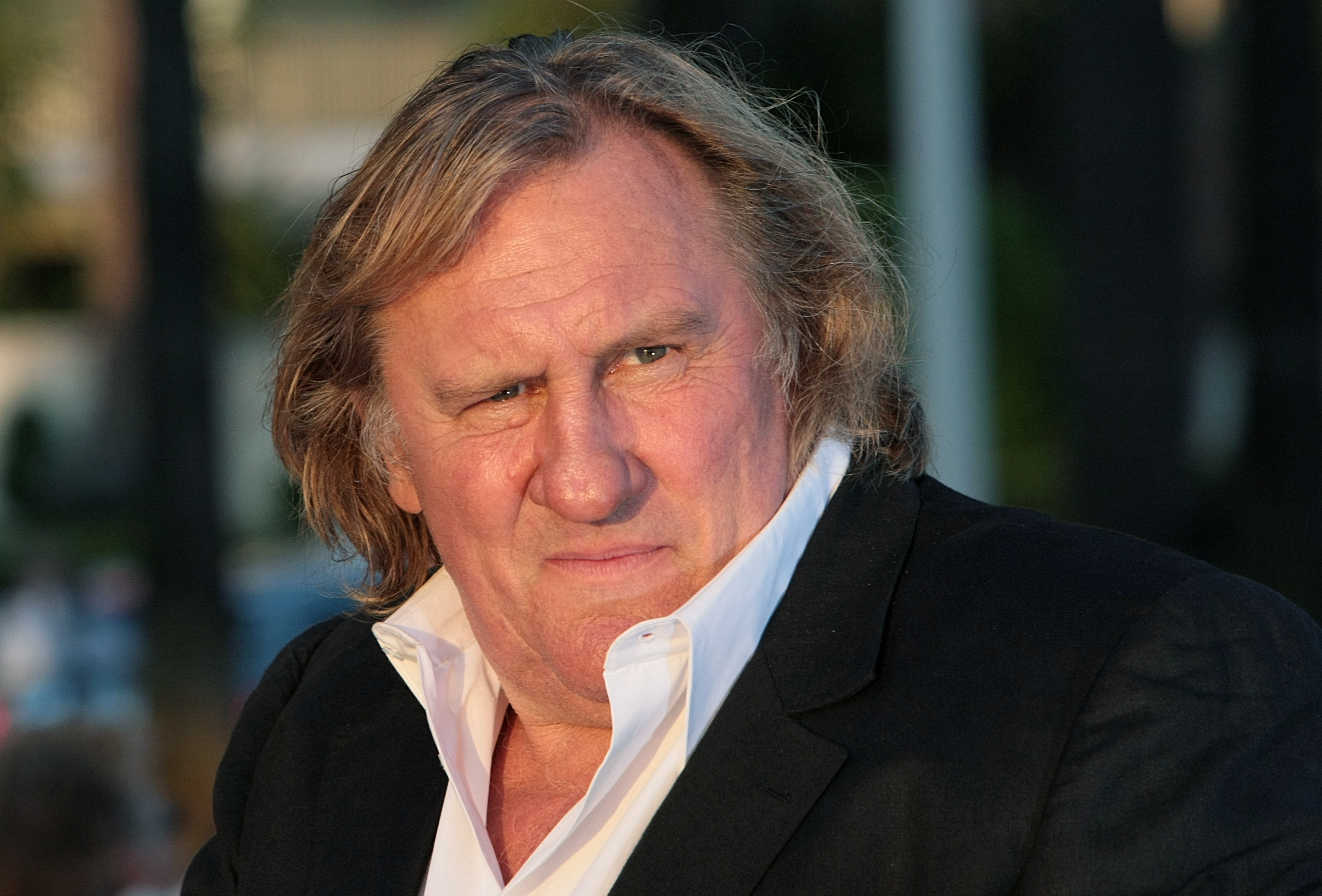 (FILES) - A file picture taken on May 20, 2010 in Cannes shows French actor Gerard Depardieu attending a TV show. Russian President Vladimir Putin on January 2, 2013 signed a decree granting Russian citizenship to the French movie star, who has threatened to give up his French passport to protest a proposed tax hike on the rich.    AFP PHOTO / LOIC VENANCE