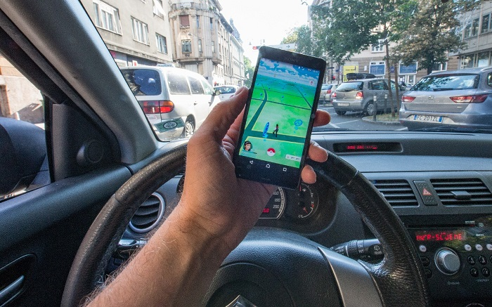 18.07.2016., Zagreb, Croatia - Mobile game Pokemon Go for Android and iOS smartphones that millions of players forces to capture the tiny creatures, peculiar hybrids of various animals, the default locations, is officially available in the Republic of Croatia. There are more daily users than Twitter, more engaged than Facebook and earnings of $ 1.6 million a day.