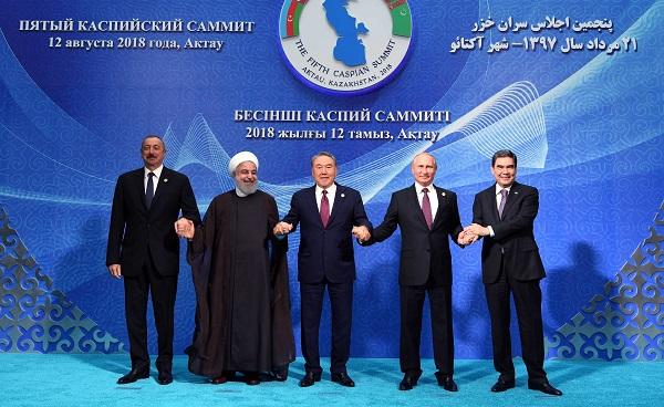 Тарихи оқиға: Бес ел басшысы Каспий теңізін ресми түрде бөлісті