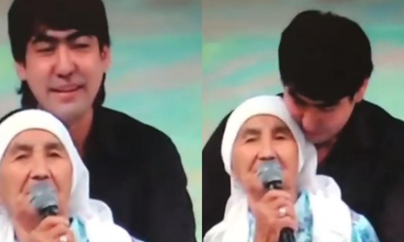 Мейрамбек Бесбаев марқұм әжесін көрсетіп, жұрттың жүрегін елжіретті (видео)