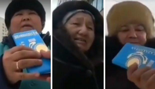 20 мың теңгеден: Егде жастағы әйелдерге ішінде ақшасы бар шоколад сыйлаған қазақстандық жұрттың жүрегін елжіретті (видео)
